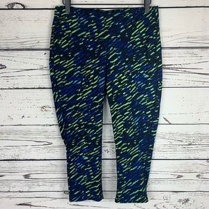 Gap Fit gFast Capri Print